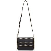 Black Valentino Garavani Small Rockstud Shoulder Bag
