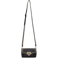 Black Valentino Garavani Mini Rockstud Crossbody Bag