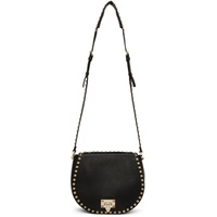 Black Valentino Garavani Saddle Bag