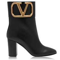 V Logo 85 Mm Heel Boot