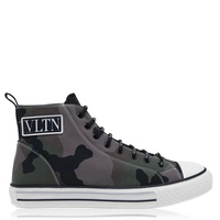Camo Canvas High Tops