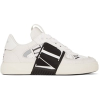 White Valentino Garavani Elastic Low-Top Sneakers