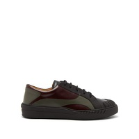 Valentino Rubberup leather and rubber trainers