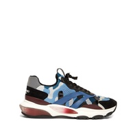 Valentino Bounce raised-sole low-top trainers