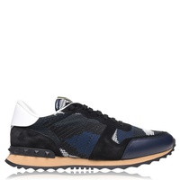 VALENTINO Mesh Camouflage Rockrunner Trainers