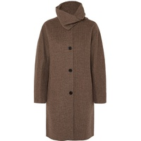 Vanessa Bruno John checked wool and cashmere-blend coat