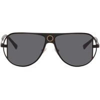 Black Grecamania Pilot Sunglasses