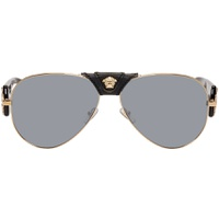 Black & Gold Baroque Sunglasses