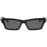 Black Square Cat-Eye Medusa Ares Sunglasses