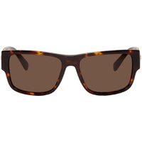 Tortoiseshell Medusa Medallion Rock Icon Sunglasses