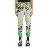 VERSACE Baroque Print Athletic Pants
