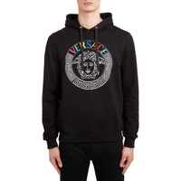 VERSACE Embroidered Logo Medusa Head Hoodie