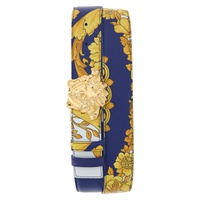VERSACE Palazzo Medusa Reversible Leather Belt