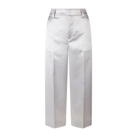 Vince Metallic Wide Leg Trousers