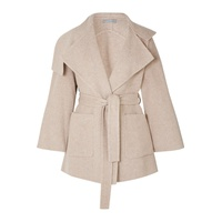 Vince Belted wool-blend coat