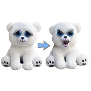 William Mark Feisty Pets: Karl the Snarl- Adorable 8.5 Plush Stuffed Polar Bear That Turns Feisty With A Squeeze …