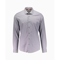 Wilson Border & Co - Cut Away Collar Long Sleeve Shirt - Grey
