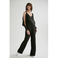 df953eb4e934 Yigal Azrouel Cold Shoulder Jumpsuit
