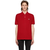 Red L.12.12 Polo