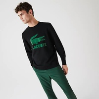 Men's Printed Logo Fleece Crew Neck Sweatshirt