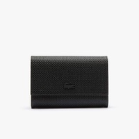 Women's Chantaco Matte Pique Leather Snap Flap Wallet