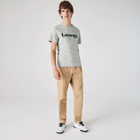 Men's Lacoste And Crocodile Branded Cotton T-shirt