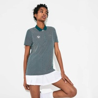 Women's SPORT Roland Garros Printed Cotton Polo Shirt
