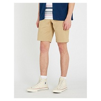 LACOSTE Regular-fit cotton-twill shorts