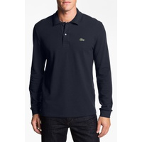 LACOSTE Regular Fit Long Sleeve Pique Polo