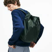 Lacoste Mens Motion Technical Nylon Collapsible Backpack