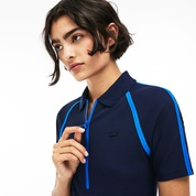 Lacoste Womens LIVE Polo Collar Dress