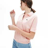 Lacoste Womens Relaxed Pique Polo