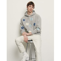 Sandro Hoodie avec patch brode