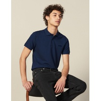 Sandro Cotton Polo Shirt With Lettering