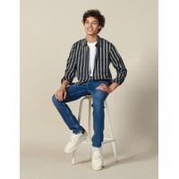 Sandro Striped Flowing Shirt