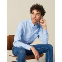 Sandro Striped Shirt With Breast Pocket